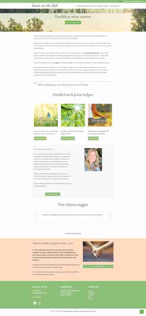 jennievanderwalwebsitescreenshot